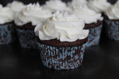 Simply Frosted Cupcakes